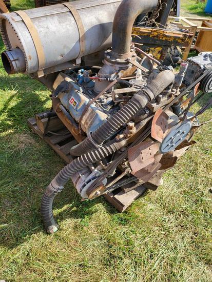 8.2 GM Diesel Engine and Pump