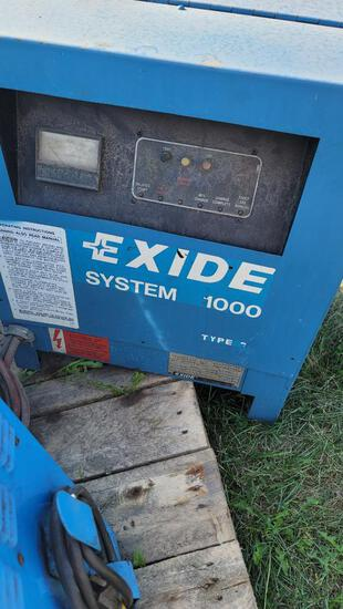 Exide Type 1000 Battery Charger