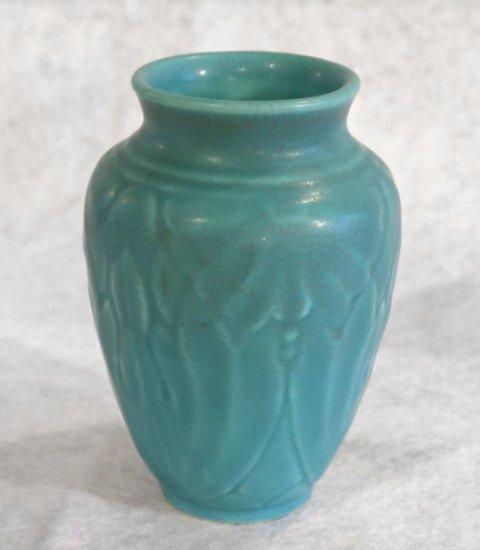 """5"""" Light Blue Rookwood Vase"""