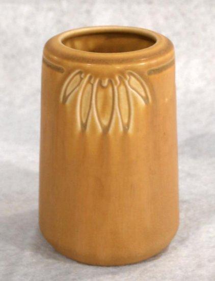 "5.5"" Yellow Rookwood Vase"