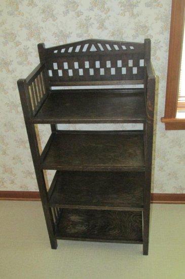 Dark Wood Vintage Wood Shelf