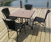 5-Piece Outdoor Table & Chairs - OD