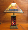 Stained Glass Table Lamp - LR