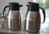 (2) Metal Coffee Pots