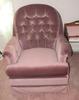 Maroon Swivel Chair