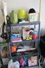 Plastic Shelf & Gardening Contents