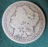 1891-O Morgan Silver Dollar - M