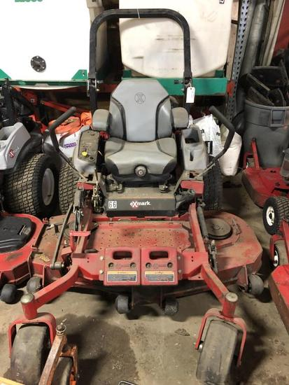 "60"" eXmark Riding Mower - Bent Deck"