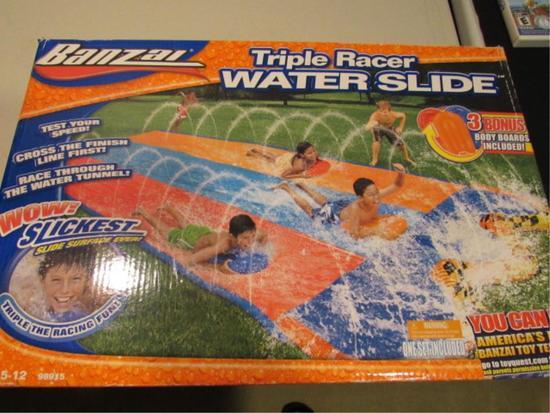Triple Racer Waterslide
