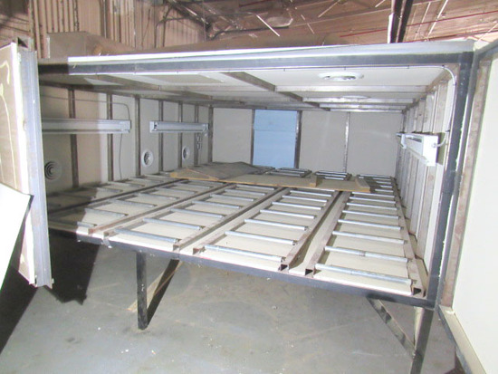 Custom Heated Finish Drying Box
