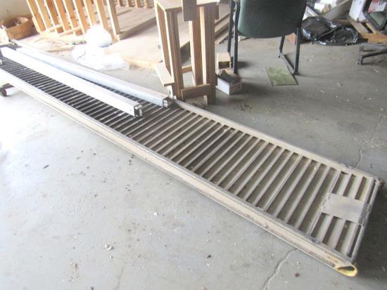 (2) Semi Load Locks and Aluminum Ramp