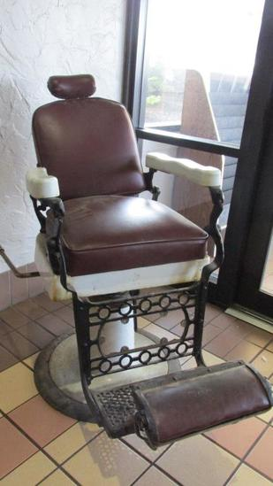 Antique Barber Chair - L