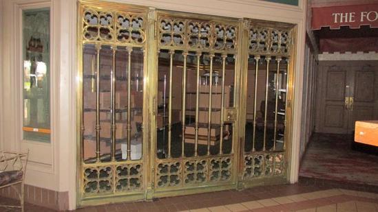 Solid Brass Large Entranceway - L