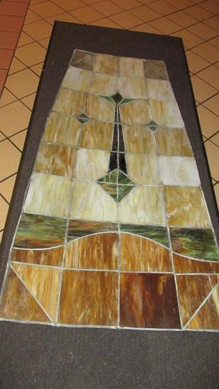 (18) Panes Of Leaded Stained Glass - L