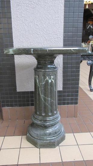 Large Marble Pedestal - L