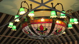 Hanging Leaded Stained Glass Light - Dcce