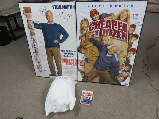 """Cheaper By The Dozen"" Autographed Dvd, (2)"