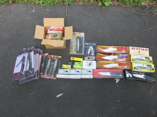 Large Assortment Of Knives-G