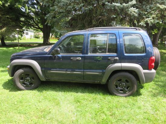 2003 Jeep Liberty Sport 3.7L 4x4-OS