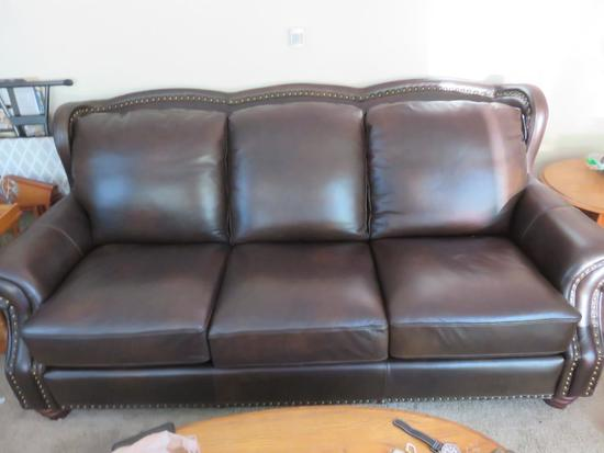 Leather Couch-LR