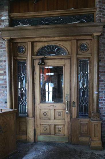 C - Oak Entry Doorway