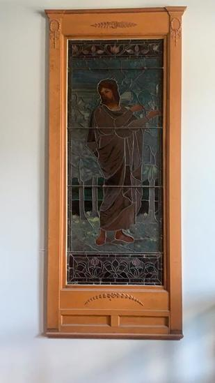 CU - Large Stained Glass Insert
