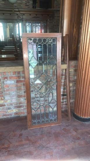 C - Beveled Glass Window
