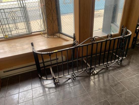 F - (1) Wrought Iron Balcony
