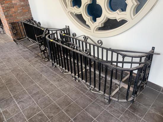 F - (4) Wrought Iron Balcony