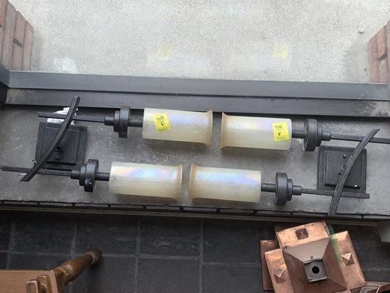 F - (2) Decorative Light Fixtures