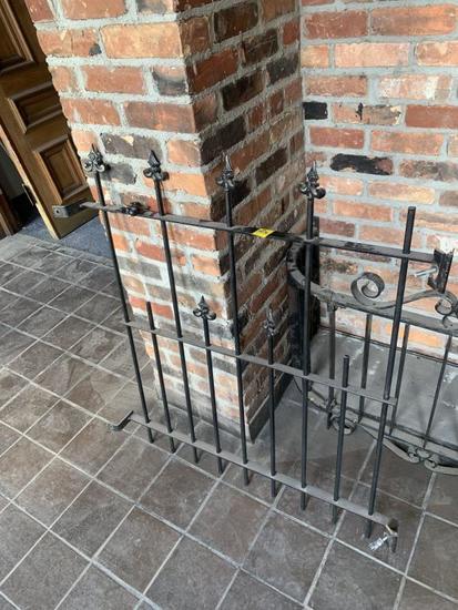 F - Wrought Iron Gate