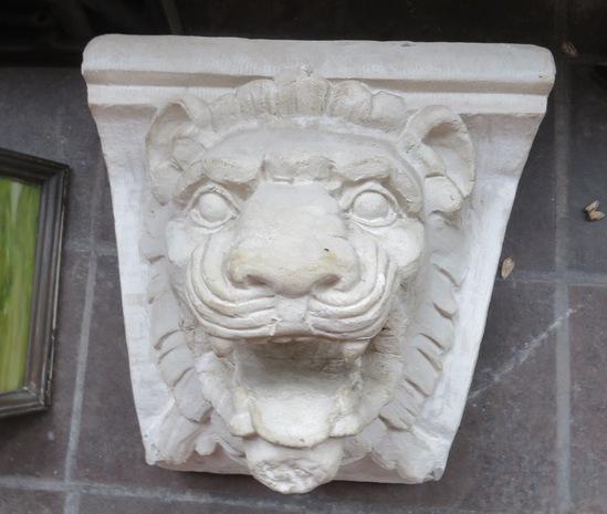 D- Lion Head Bust