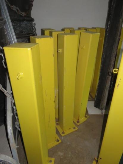 B- (16) Metal Construction Poles