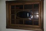 B - (4) Oval Decorative Glass Panes