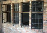 B - (5) Dual Glass Pane Windows