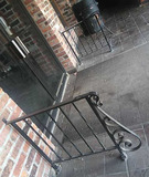 A - (4) Wrought Iron Handrails