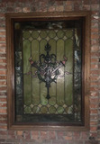 I - Stained Glass Lead Window