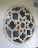 F - Stained Glass Circle Window
