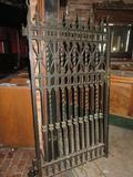 C - (2) Wrought Iron Gates