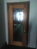 CU - Wood with Glass Entry Door & Metal Guard