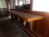 CU - Large Ornate Wood Ledge