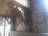 CU - (4) Wood Corbels