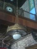 C - Tiffany Inspired Brass Chandelier