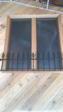 F - Acid-etched Window & (4) Cast Iron