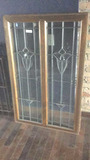 G - (2) Beveled Lead Window