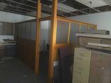 S - Oak & Glass with Door Room Enclosure
