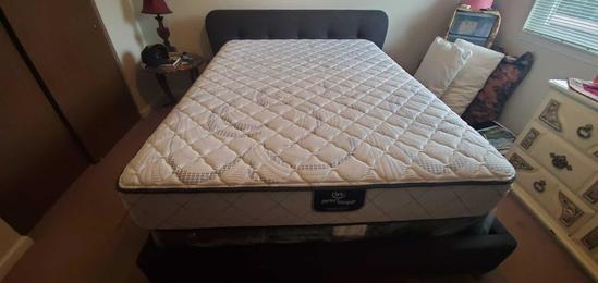 U- Queen Headboard & Bed