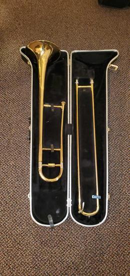 D- Brass Trombone
