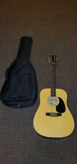 D- Fender Squire Accoustic Guitar