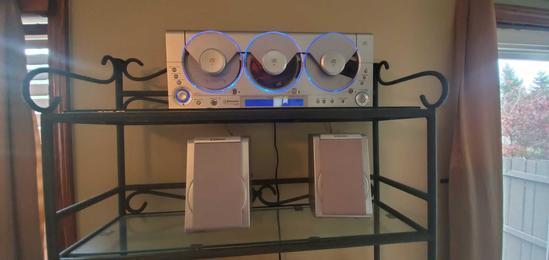 L- Emerson Triple Play Linear 3 CD Changer